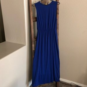 SALE- H&M Blue Maxi Dress, Small